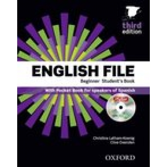 English File Beginner Student's Book with Workbook and Key 3ED