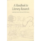 A handbook of literary research