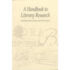 A handbook of literary research