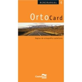 OrtoCard. Reglas de ortografía castellana