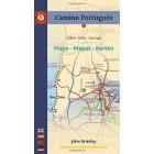 Camino Portugués -Lisboa a Santiago- mapa+guía (english-español-portugués-deutsche)