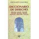 Diccionario de derecho : español-inglés-francés