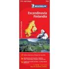 Escandinavia-Finlandia (nacional-rojo) 711 1/1.500.000