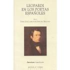 Leopardi en los poetas españoles