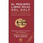 El pequeño libro rojo del golf.
