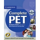 Cambridge Complete PET Student´s Book with answers + CD-Rom