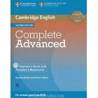 Complete Advanced (Second Edition) Teacher's Book with Resource CD-ROM