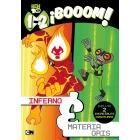 1-2 ¡Booom! (Ben 10. Primeras lecturas). Incluye 2 increíbles aventuras: Infierno y Materia gris
