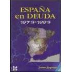 España en deuda 1975-1995