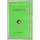 Greek lyric. Vol II. (Trad de D. A. Campbell)