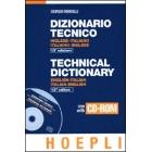 Dizionario tecnico : inglese-italiano/italiano-inglese (libro + CD-ROM)