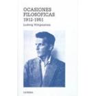 Ocasiones filosóficas.1912-1951.