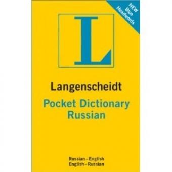 Langenscheidts Pocket dictionary Russian