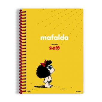 Agenda Mafalda 2018 (Anillada Roja)