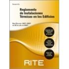 R.I.T.E Reglamento de instalaciones térmicas en los edificios. 6 ed.