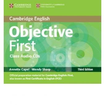 Objective First Certificate Class CDs (Third ed.)