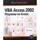 VBA Access 2002 : programar en Access