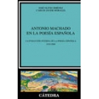 Antonio Machado en la poesía española : la evolución interna de la poesía española, 1939-2000
