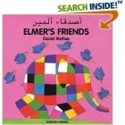 Elmer's  Friends Arabic-English