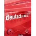 deutsch.com 2, Arbeitsbuch + CD Audio