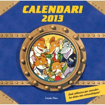 Calendari Gerónimo Stilton 2015