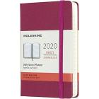 Moleskine* Agenda Diaria 12 meses Pocket (cartoné-rosa)