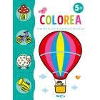 Colorea + lápices de colores +5