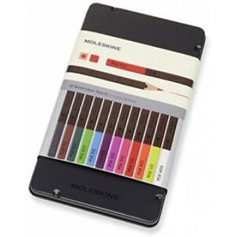 Estuche Moleskine 12 lápices de Acuarela -Naturally Smart -