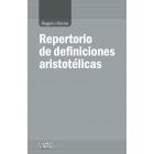 Repertorio de definiciones aristotélicas