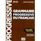 Grammaire progressive du français - Niveau perfectionnement B2-C2. Livre - Nouvelle couverture
