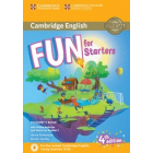 Fun for Starters Student's Book with Online Activities with Audio and Home Fun Booklet 2 4th Edition