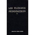 Los filósofos presocráticos, Vol.III