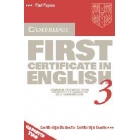 Cambridge first certificate in english 3. Cassettes (2)