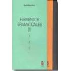 Elementos gramaticales (3 Vols.)