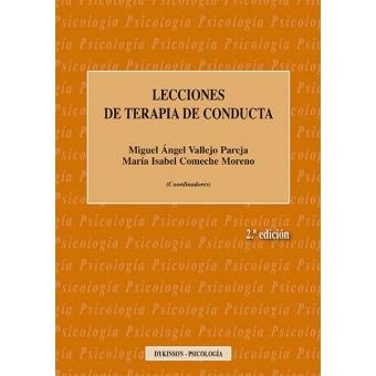 Lecciones de Terapia de Conducta. 2ª edicion