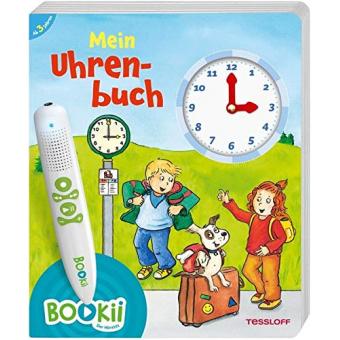 BOOKii Mein Uhrenbuch: Uhr und Uhrzeit lernen