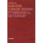 Elsevier's conscise spanish etymological dictionary