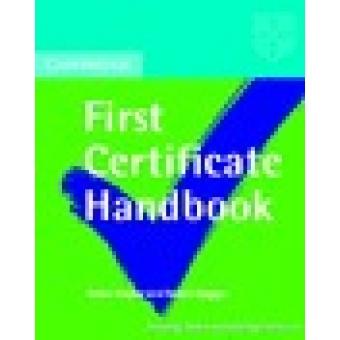 Cambridge first certificate handbook.