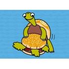 Postal-Tortuga hambrienta (14,8x10,5)