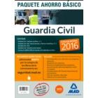 Paquete Ahorro Basico Guardia Civil 2016: Temarios 1 y 2, Test, Simulacros de Examen y acceso a Campus Oro