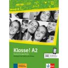 Klasse! A2 Kursbuch mit Audios und Videos (Deutsch für Jugendliche)
