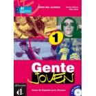 Gente joven 1 Libro del alumno más CD audio A1