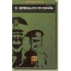 El generalato en España