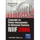 Comprender normas de informació financiera NIIF 2006