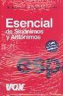 Vox Diccionario esencial de sinónimos y antónimos