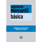 Legislación mercantil básica. 2013