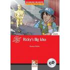 Ricky's Big Idea. Livello 2 (A1-A2). Con CD-Audio
