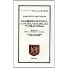 Comedieta de Ponza;Sonetos;Serranillas;etc.