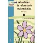 Actividades de refuerzo de matemáticas. lº de E.S.0