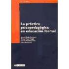 Práctica psicopedagógica en educación formal